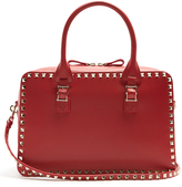 Valentino Rockstud leather bowling bag