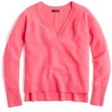 J.Crew Women's Supersoft Yarn V-Neck Sweater