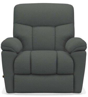 """Thumbnail for your product : La-Z-Boy Morrison 36.5"""" Wide Manual Rocker Standard Recliner Upholstery Color: Indigo, Reclining Type: Manual"""