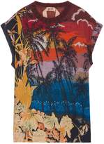 No.21 Tropical Print Top