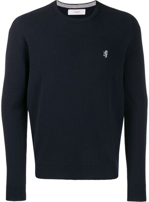 Pringle Embroidered Logo Knit Sweater
