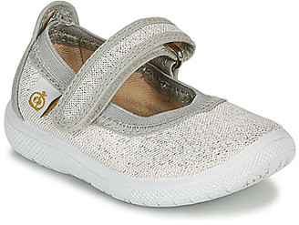 Citrouille et Compagnie MIRABEL girls's Shoes (Pumps / Ballerinas) in Silver