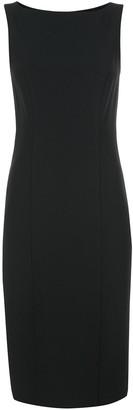 Carolina Herrera Fitted Midi Dress