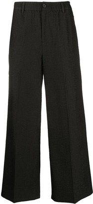 Harrison Wong Wide Leg Quilted Trousers