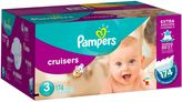 Pampers CruisersTM174-Count Size 3 Economy Pack Plus Disposable Diapers