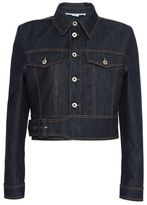 Stella McCartney angelica raw denim jacket