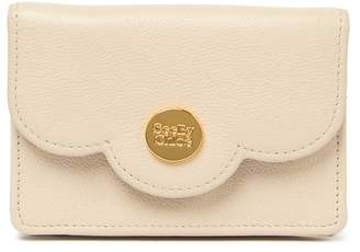 See by Chloe Scalloped Leather Coin Purse