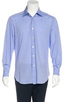 Kiton Woven Button-Up Shirt