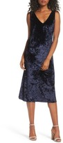 BB Dakota Women's Catrall Velvet Midi Dress