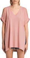 AllSaints Cora V-Neckline T-Shirt