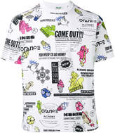 Kenzo cartoon-print T-shirt
