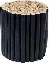 Jeffan Black Hoover Accent Table