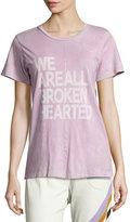 Freecity Broken Hearted Short-Sleeve Tee, Purple