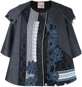 Antonio Marras appliquée oversized jacket