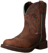 Justin Boots Women's Gypsy Collection Round-Toe Western Boot - 8 Inch