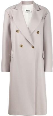MM6 MAISON MARGIELA Double-Breasted Midi Coat
