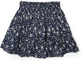 Polo Ralph Lauren Floral Cotton Pull-On Skirt (2-7 Years)