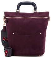 Anya Hindmarch Orsett Small Suede Shoulder Bag