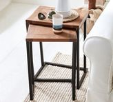 Pottery Barn Granger Nesting Side Tables