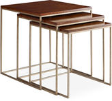 One Kings Lane S/3 Edward Nesting Tables, Whiskey