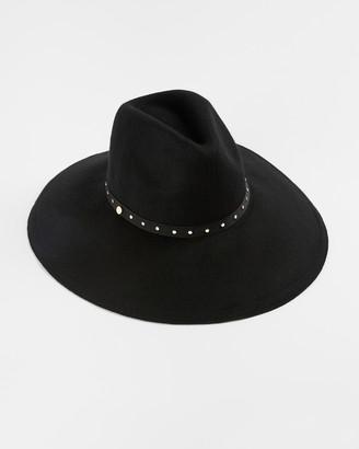 Ted Baker ROSIEYY Stud detail wool hat