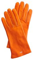 Women\'s Classic Leather Gloves, Bright-Toned