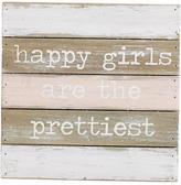 Mud Pie Happy Girls Sign