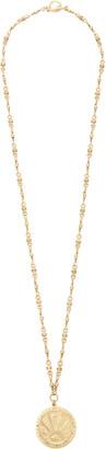 Brinker & Eliza Karma 24K Gold-Plated Pendant Necklace