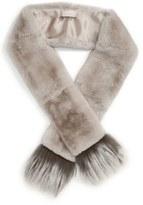 Max Mara Women's 'Vetrino' Genuine Rabbit Fur Scarf
