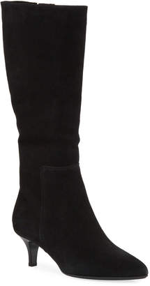 La Canadienne Drake Waterproof Kitten-Heel Knee Boots