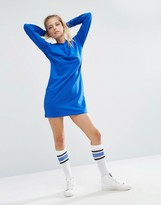 Asos Mini Hoody Sweat Dress