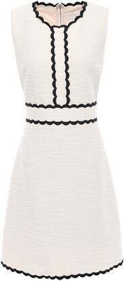 Kate Spade Cotton-blend Boucle Mini Dress