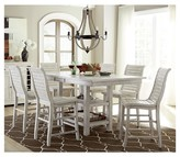 Progressive Willow Rectangular Counter Height Dining Table - Distressed White