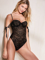 Very Sexy Lace Off-the-shoulder Bodysuit