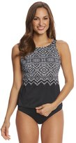 Longitude Safari Night High Neck Tankini Top 8150575