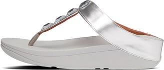 FitFlop Velda Jewel Toe-Post Sandals
