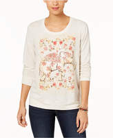 Style&Co. Style & Co Graphic-Print Sweatshirt, Created for Macy's
