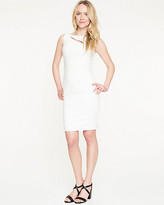 Le Château Stretch Ponte Cutout Shift Dress