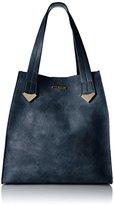 Steve Madden Brylee Tote Handbag,Blue
