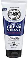 Magic Soft Sheen Carson Regular Fragrant Cream Shave Razorless Beard Remover 6oz