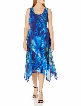 Ronni Nicole Women's Sleevless Floral midi