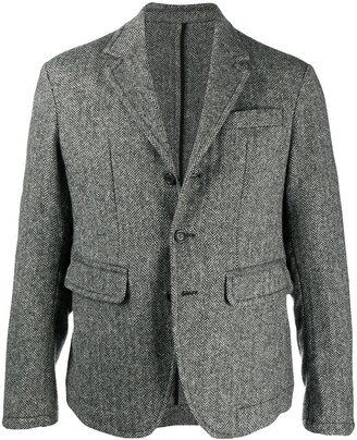 DSQUARED2 Houndstooth Effect Casual Blazer