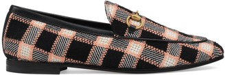 Gucci Women's Jordaan tweed loafer