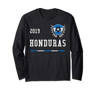 Honduras Football Jersey 2019 Honduras Soccer Jersey Long Sleeve T-Shirt