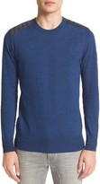 Belstaff Men's Kilnwood Quilt Shoulder Sweater