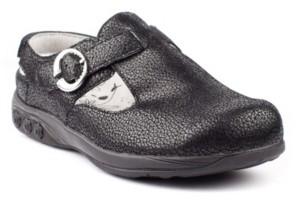 THERAFIT Shoe Chloe Adjustable Leather Clog Women's Shoes