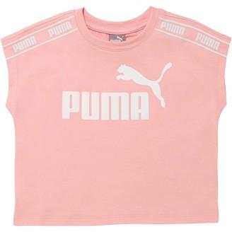 Puma Amplified Pack Girls' Fashion Tee JR