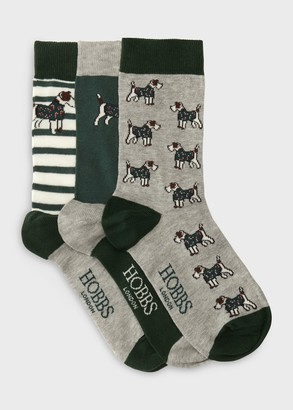 Hobbs Terrier Dog Sock Set