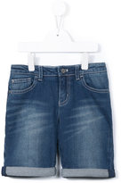 Armani Junior medium washed denim shorts - kids - Cotton/Spandex/Elastane - 4 yrs