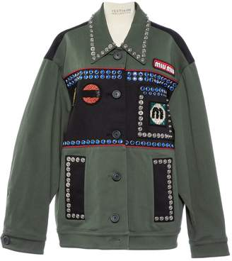 Miu Miu \N Khaki Cotton Jackets